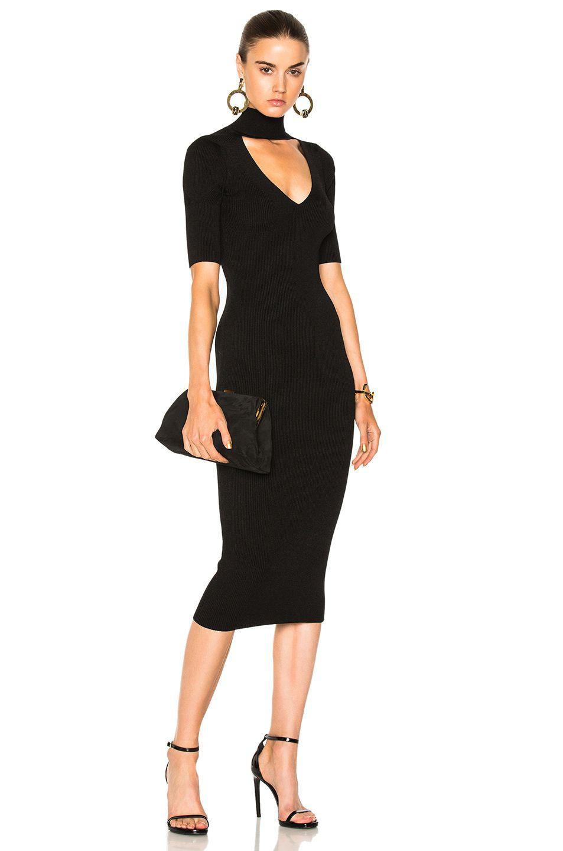 82c842850 CUSHNIE ET OCHS Cutout Turtleneck Pencil Dress. #cushnieetochs #cloth #