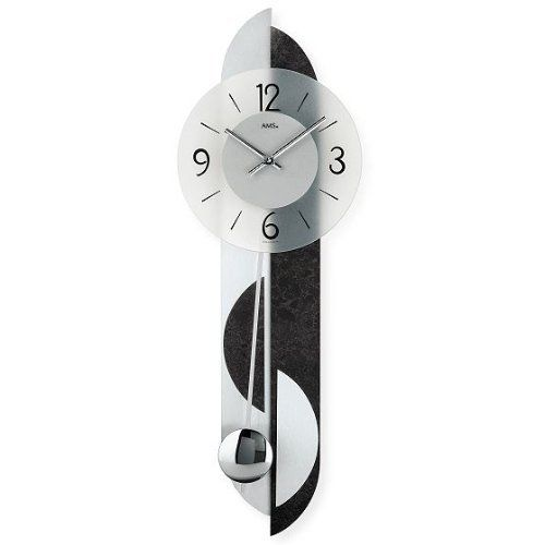 AMS 9245 Wanduhr Holz Modern часы Pinterest Clock art, Wood - wanduhren wohnzimmer modern