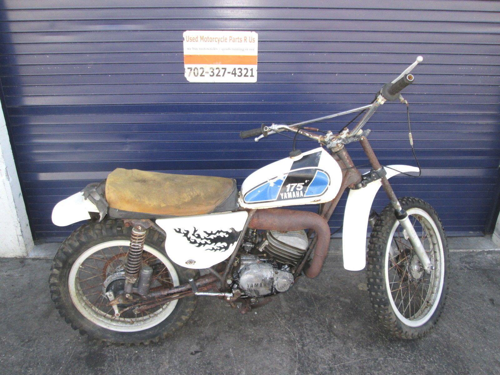 yamaha 1975 mx175 mx 175 4 5 cylinder with piston ebay 1975