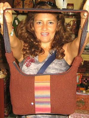 Rotbraune stofftasche aus peru mit pueblo designs taschen peru thecheapjerseys Image collections