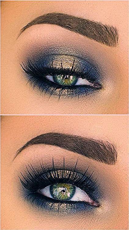 Photo of Blau und gold für grüne Augen – Make-up Geheimnisse