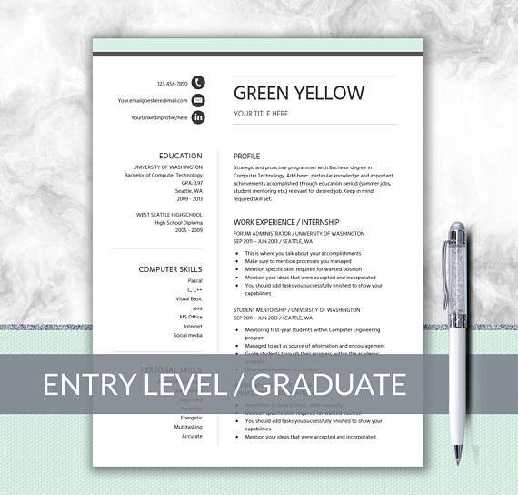 Career Starter Pack CV Starter Pack Internship Resume Millennial - internship on a resume