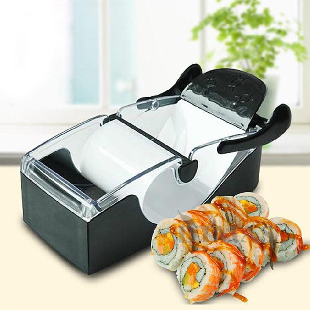 Sushi Roller Cutter Roll Magic Maker Küche Küchen Werkzeug Gadgets ... | {Roller küchen 16}