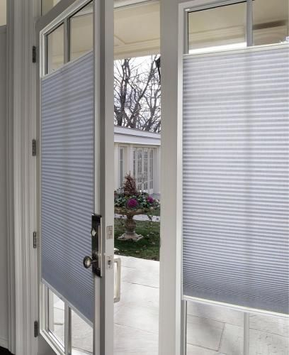 10 Things You Must Know When Buying Blinds For Doors Door Shades Blinds For French Doors Door Window Treatments