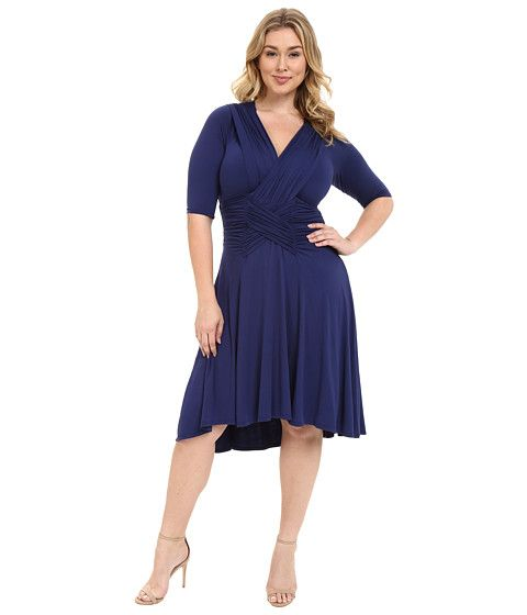 ca271a611f1 Kiyonna Refined Ruched Dress