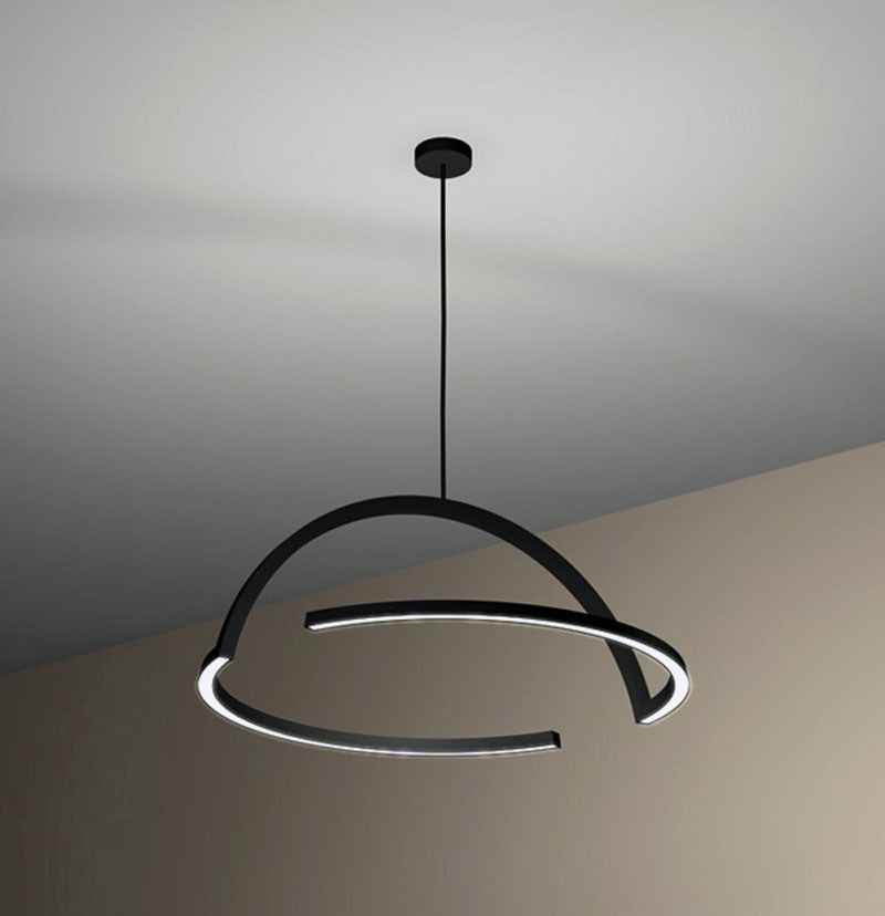 Skitsch 2d Led Lamp By Ding3000 Design Is This Modern Pendant Lamps Lamp Pendant Lamp