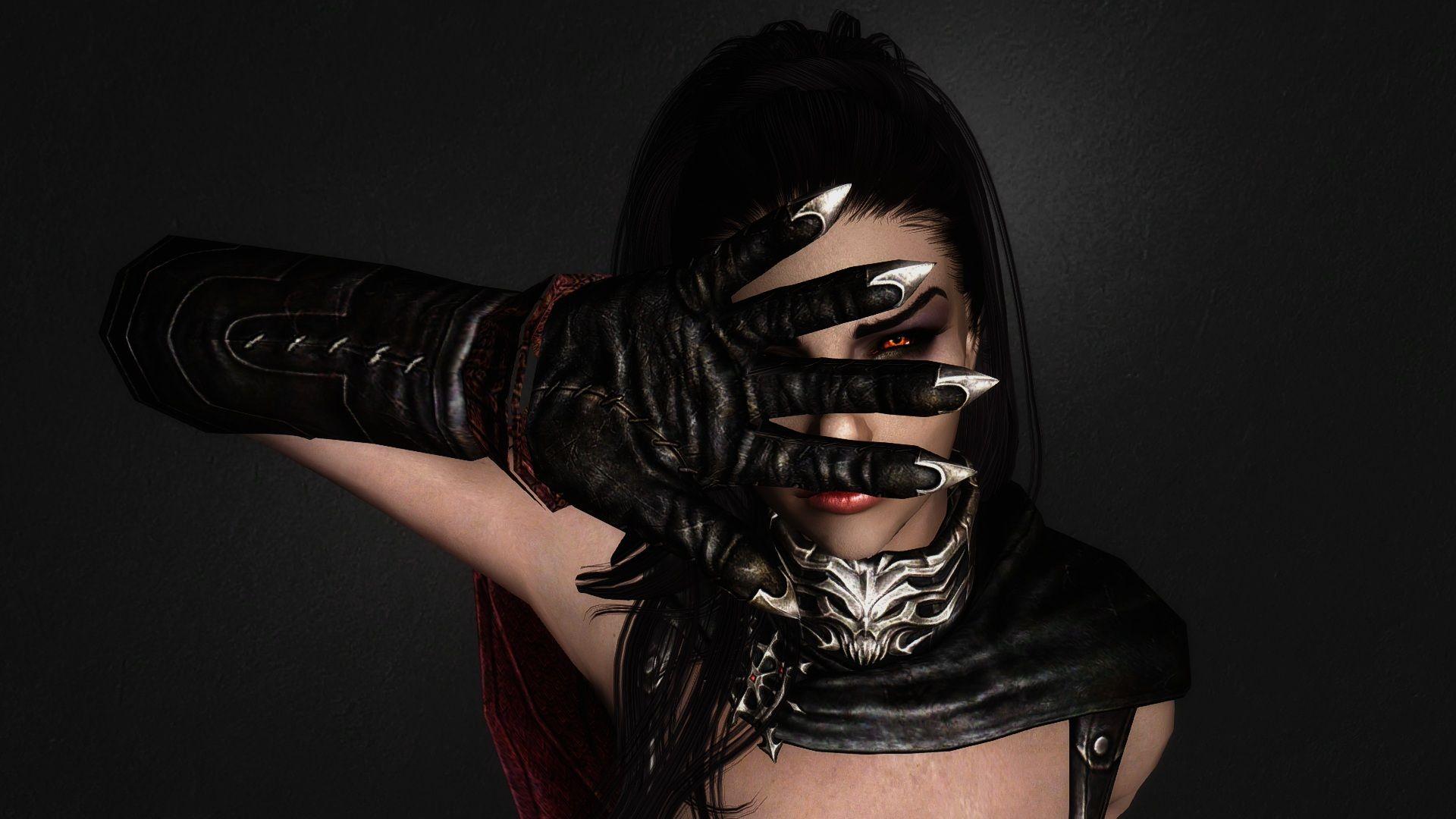 Black leather gloves skyrim - Http Skyrim Pc Mods Blogspot Com Skyrim_beautification_project