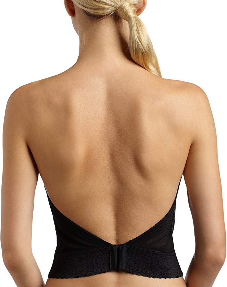 Carnival Women S Invisible Plunge Longline 206 Black 32b At Amazon Women S Clothing Store Bras Bras For Backless Dresses Strapless Dress Bra Dress Bra [ 1000 x 791 Pixel ]