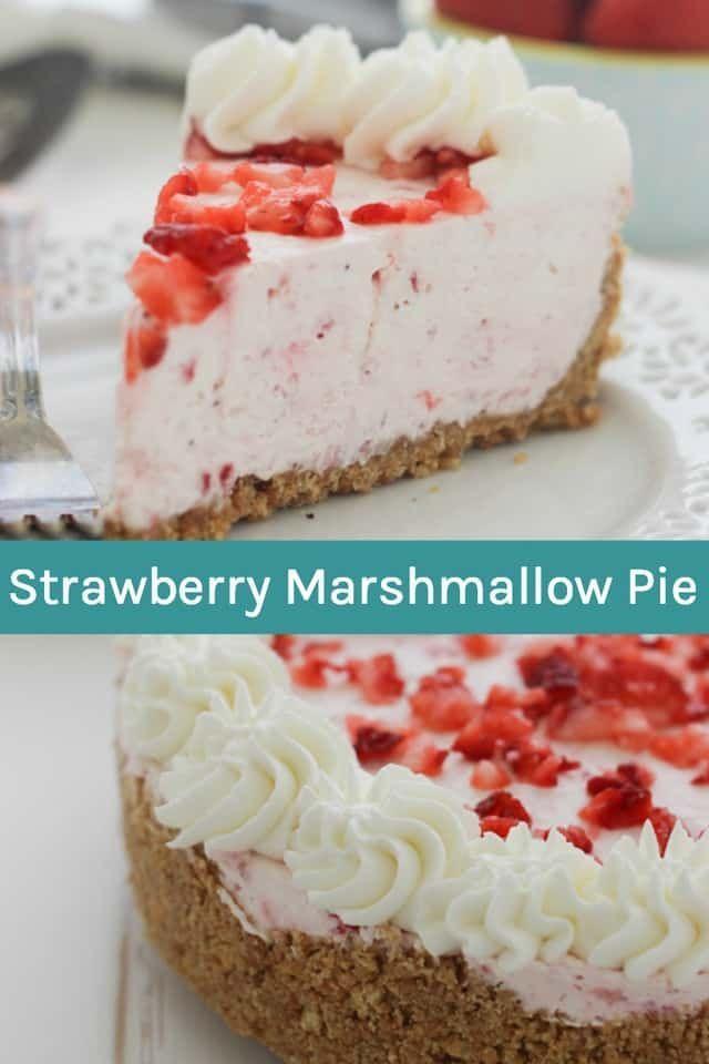 Dieser Easy Strawberry Pie ist ein flauschiger, weicher Erdbeerkäsekuchen mit ...   - pies -