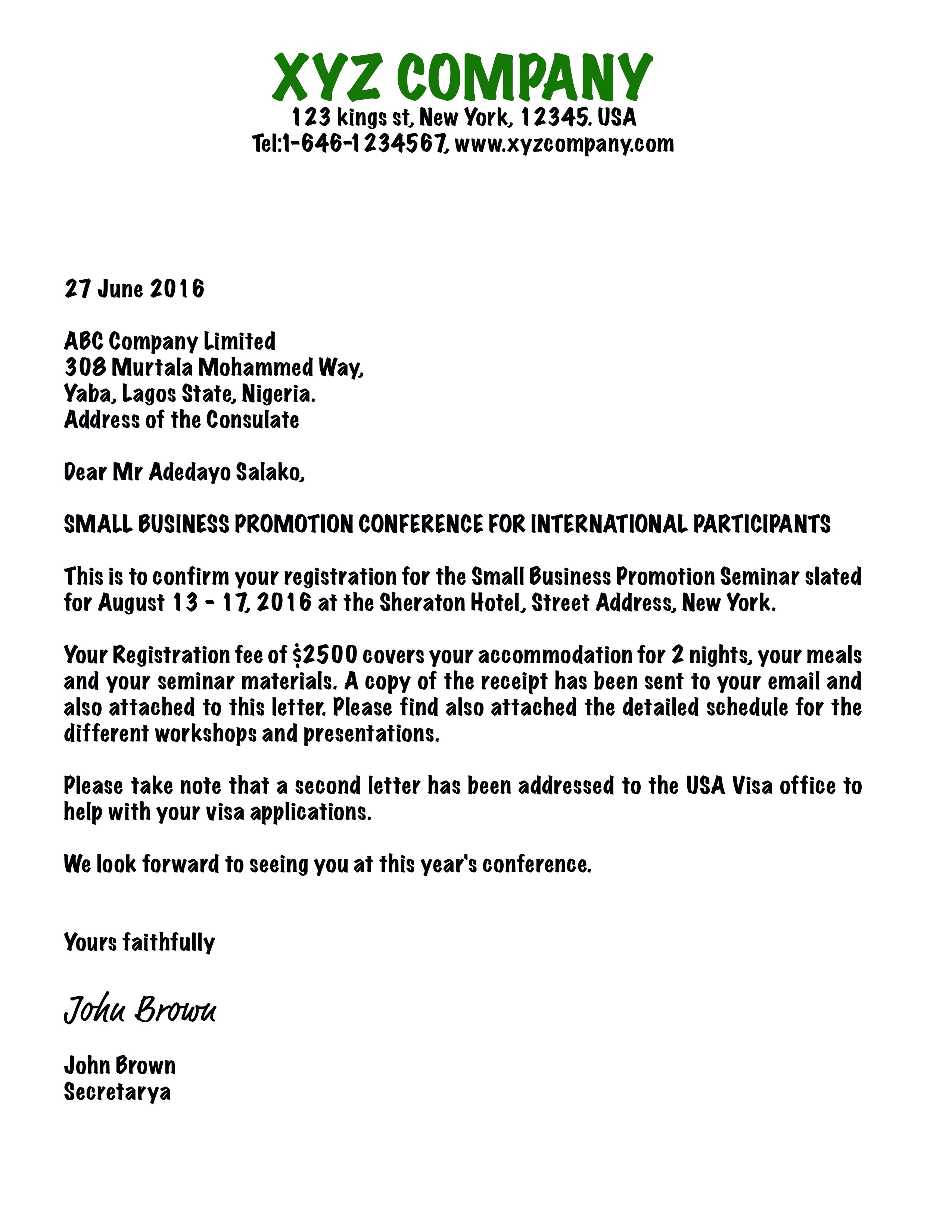 Sample business invitation letter for visa attend party general sponsor letter for event hospice nurse cover charity sponsorship sample asking money business invitation along with astounding stopboris Choice Image