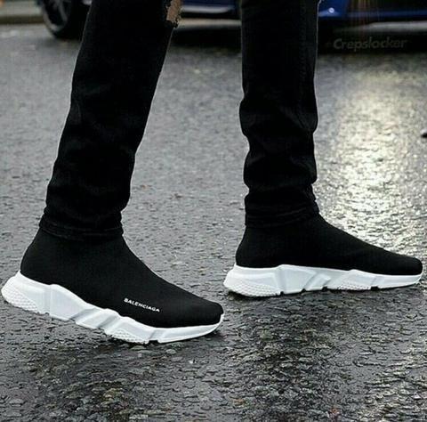 mens balenciaga sock shoes