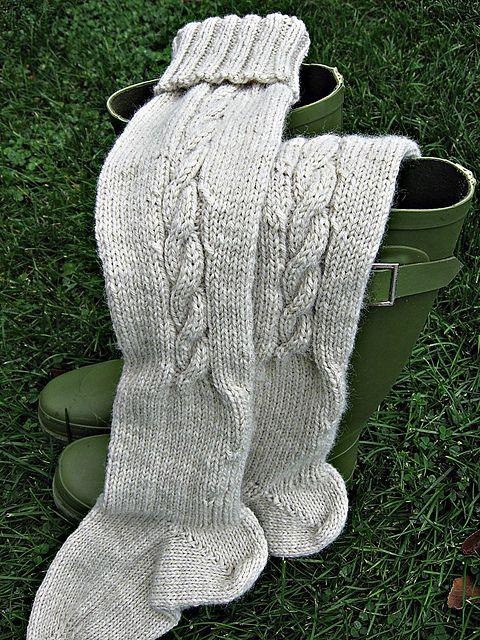 Ravelry: snippetsandstashs Wellies | Boot socks knitting ...