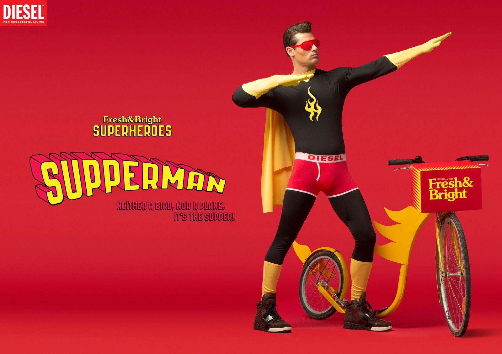 Super Héros Supperman