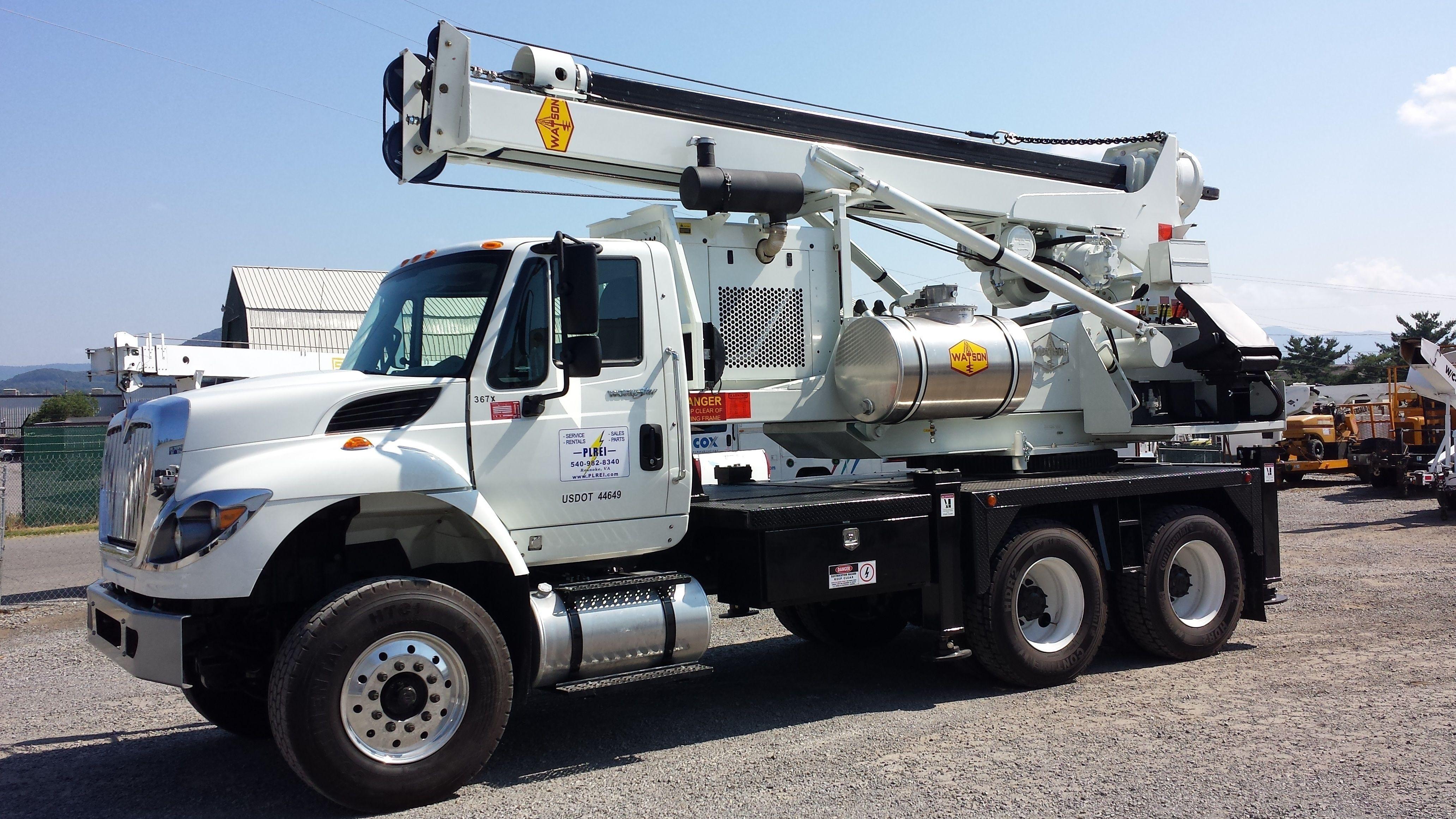Power line rentequip inc offers nationwide bucket truck