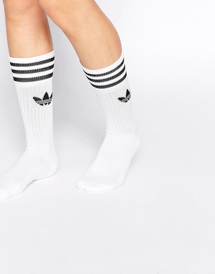 Image 2 of adidas Originals Solid Crew Socks 8e90c1a47