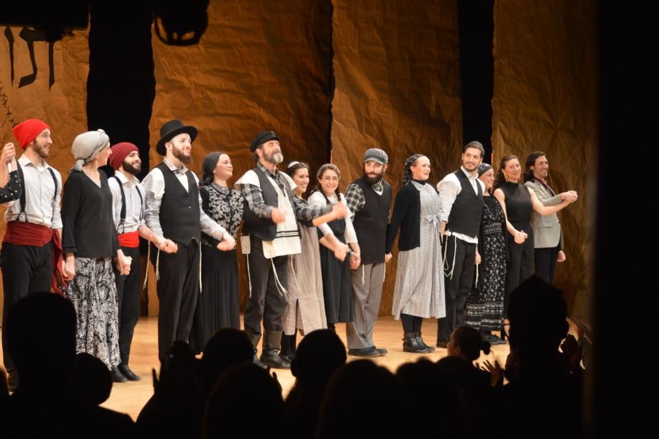 Yiddish Fiddler Opens At Stage 42 Red Carpet Curtain Call