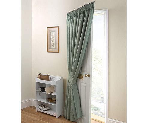 portiere door curtain pole snore pinterest door curtains curtains and doors. Black Bedroom Furniture Sets. Home Design Ideas