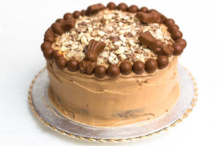 Chocolate Malteser Cake Recipe This is a moist 3 layer chocolate