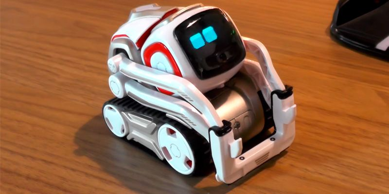 Review of Anki Cozmo. Can express nearly a hundred emotions and show them on a LED display. Note that you don't have to assemble Cozmo, it comes ready to use right out-of-the-box. The only thing you need to think of in advance is downloading a special application on iOS or Android. By connecting to the robot, the app not only programs Cozmo to work properly but also allows you to train it.  #bestadvisor #toy #robots