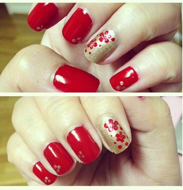 Chinese New Years New Years Nail Designs New Year S Nails New Years Nail Art