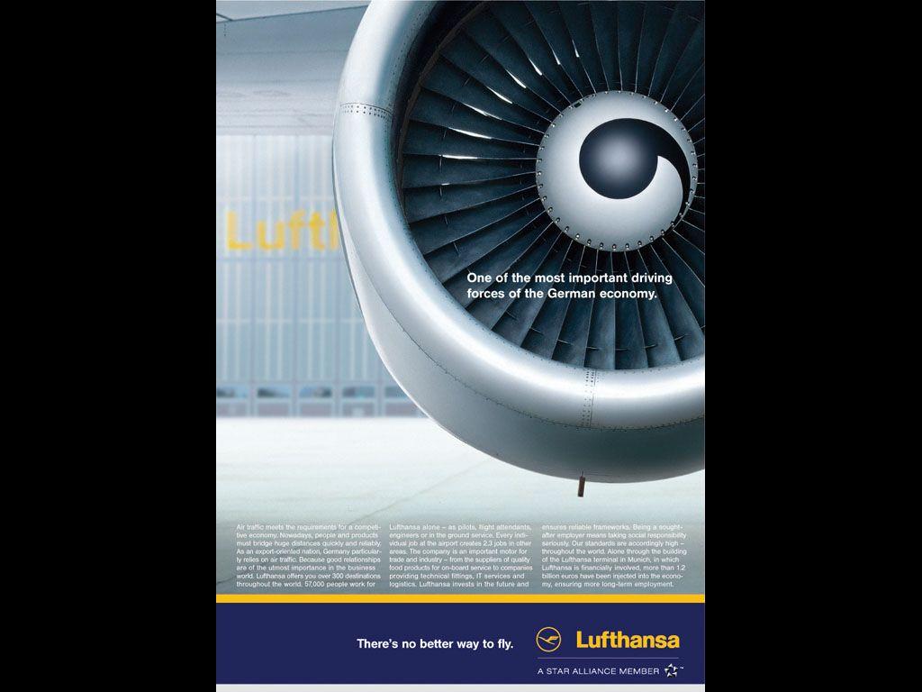 Lufthansa Engine by McCann Erickson Deutschland Magazine