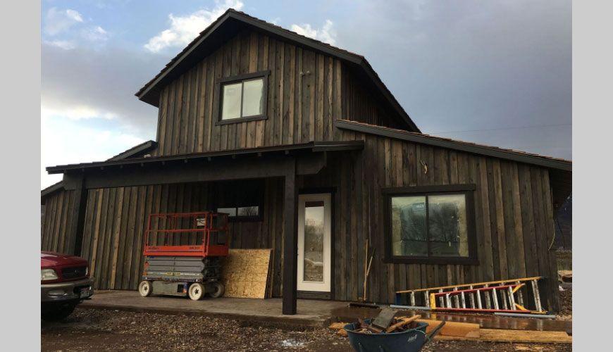 Board And Batten Siding Cleary Buildings Barn House Design Cedar Siding