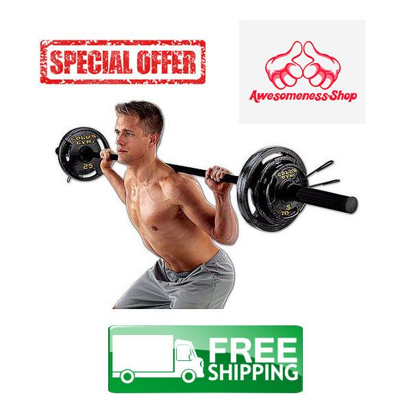 Olympic Weight Set Best Lifting Equipment Accessories Workout For