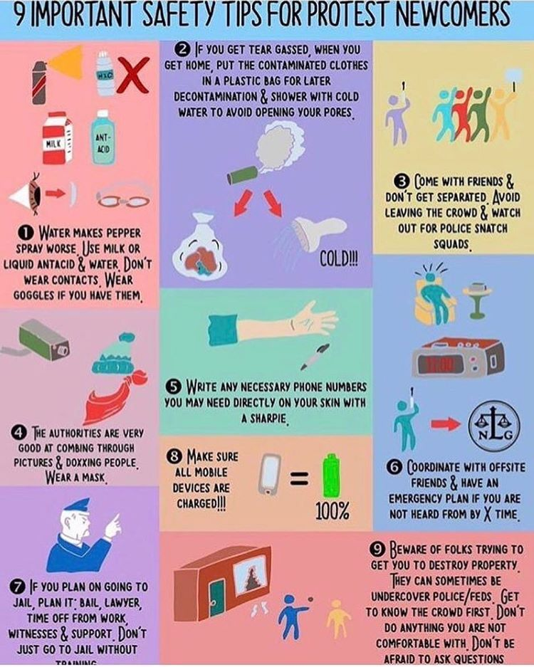 Safety tips for a protest march Resist trump, Protest