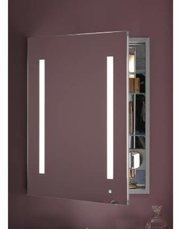 Robern Ac2430d4p1la Single Doors Mirror Medicine Cabinet Mirror