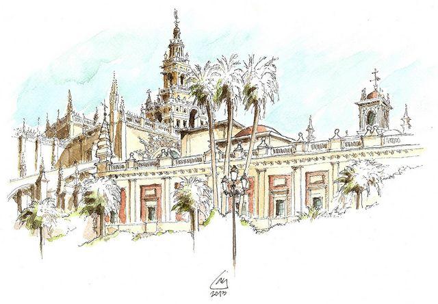 Catedral y Archivo de Indias | Flickr - Photo Sharing!