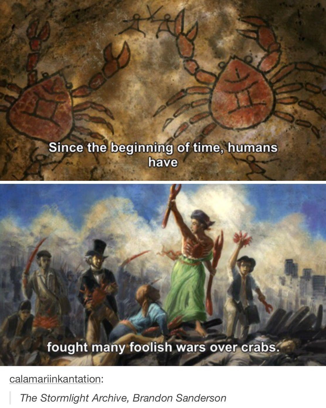Crabs On Roshar Meme