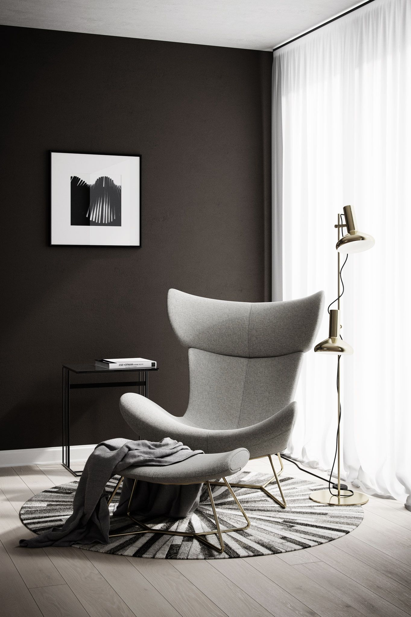 A Cozy Corner By Boconcept Boconcept Www Cadesignform Com Furniture Rustic Home Interiors House Interior