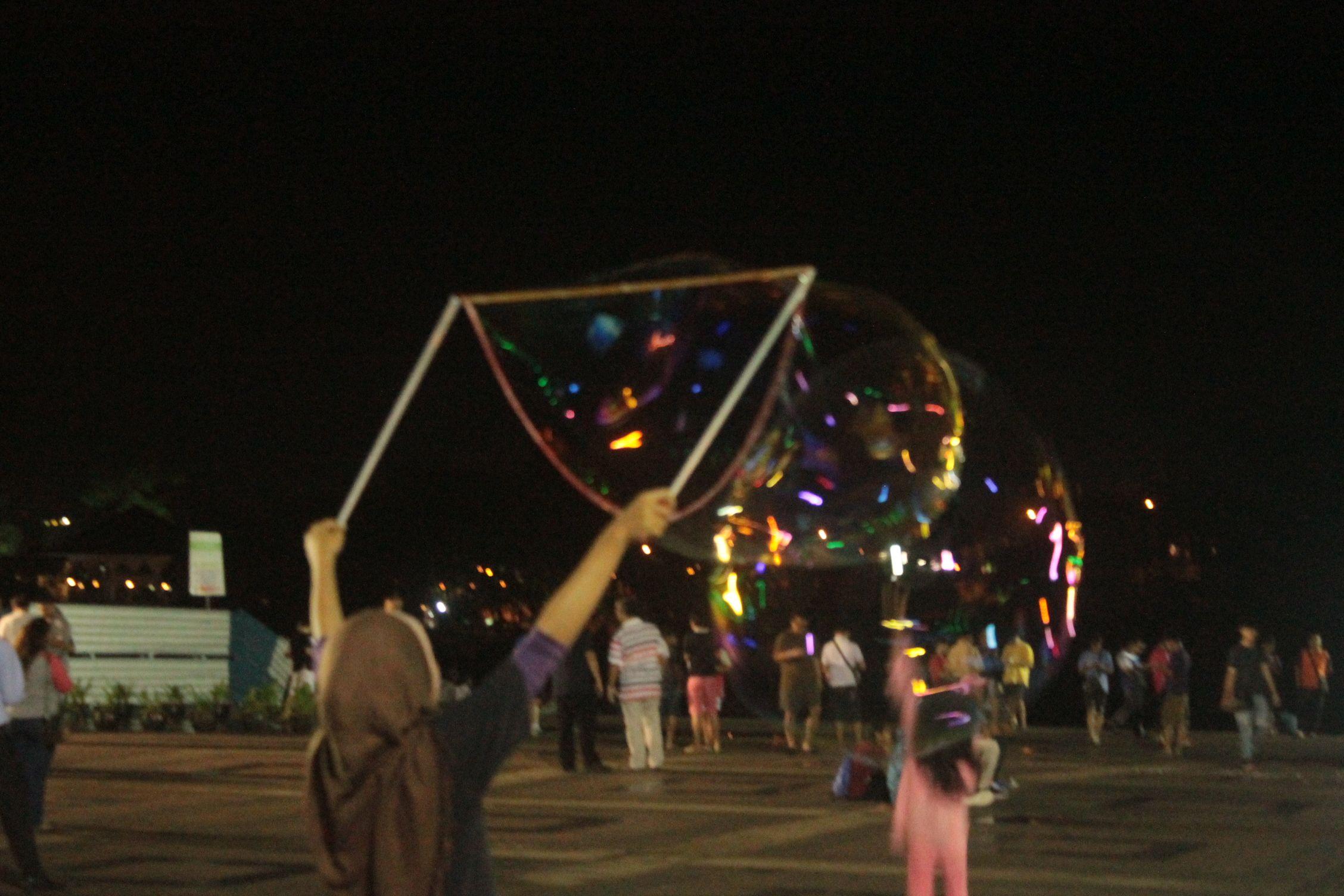 Burbujas en Kuching