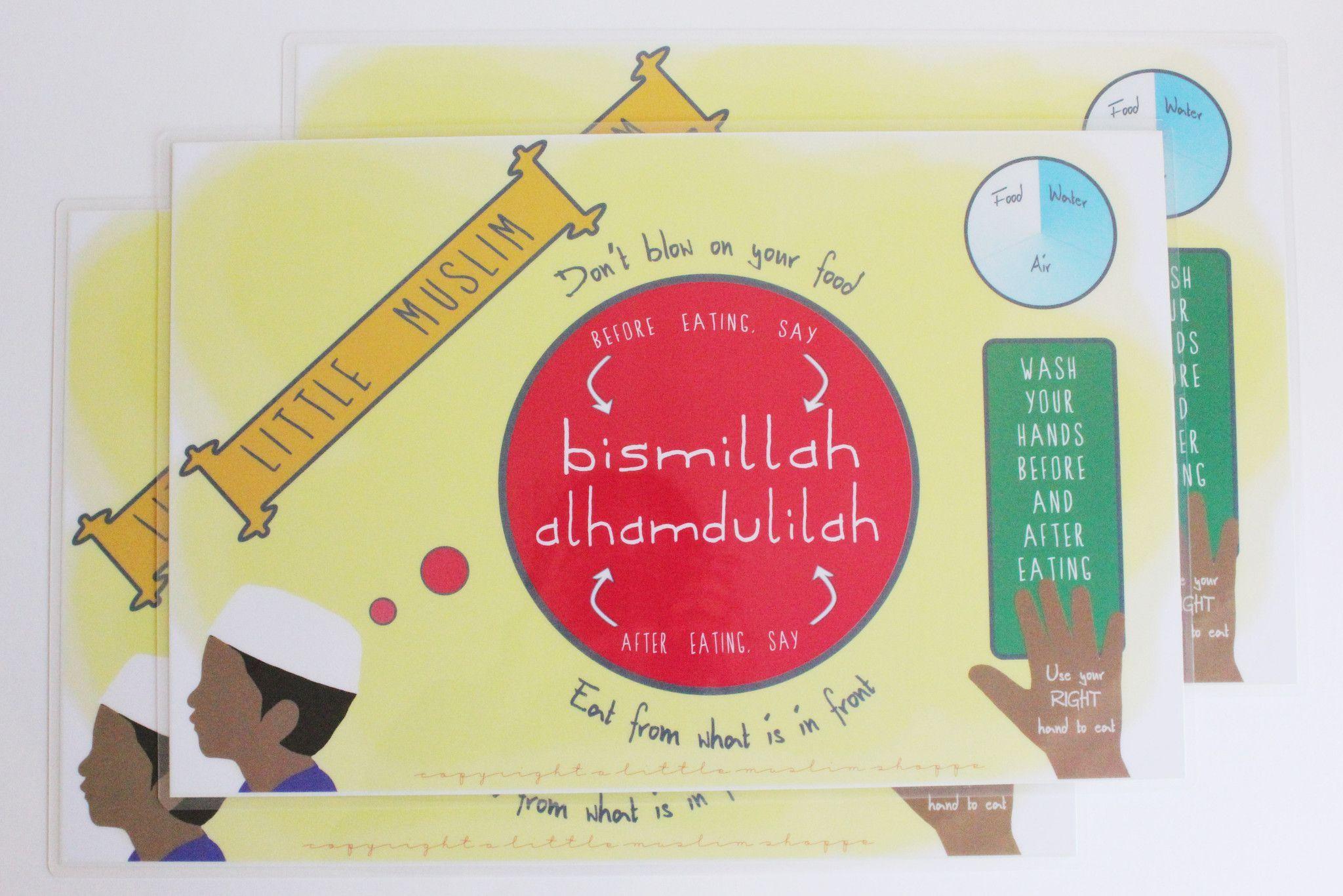 Little Muslim Activity Placemat