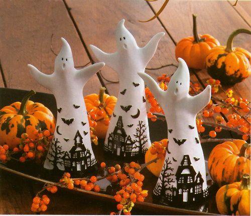 ghosts Halloween 2 Pinterest Halloween ideas and Hallows eve