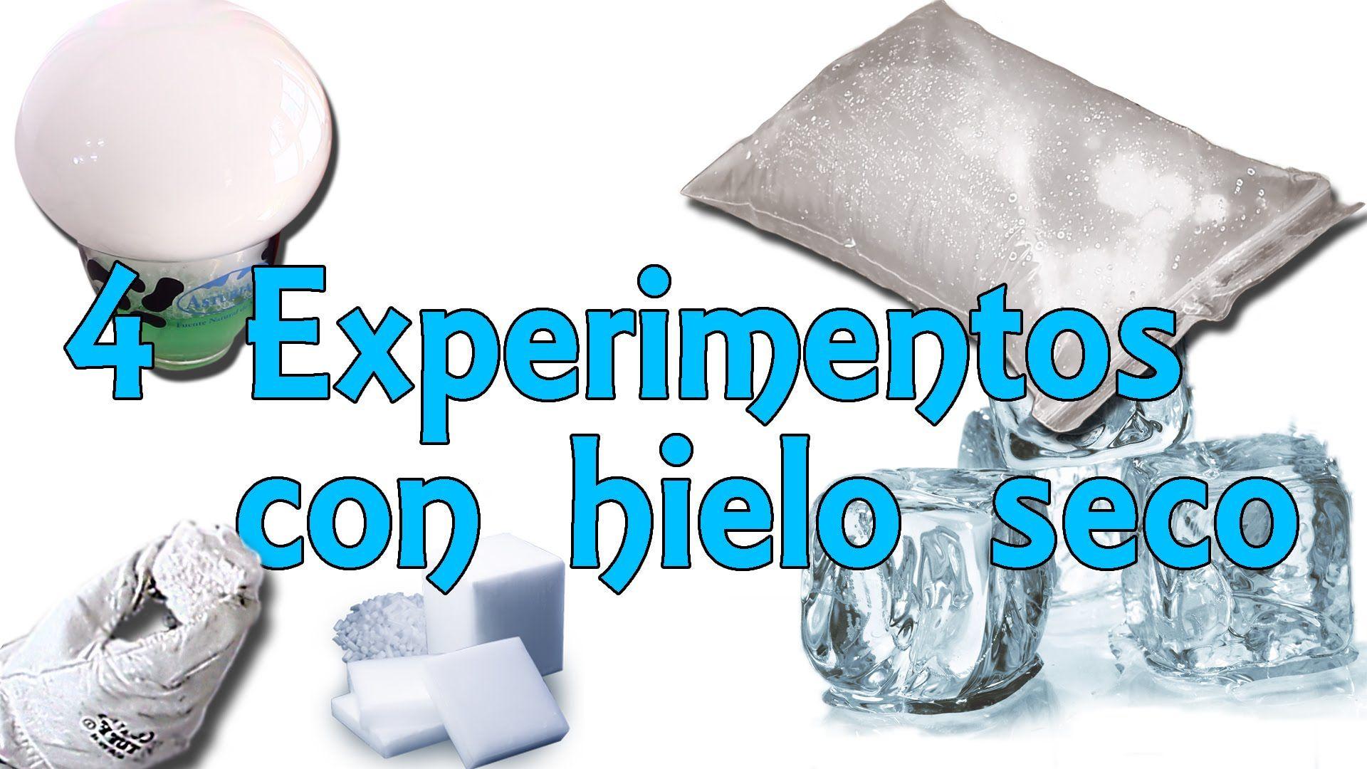 4 Sencillos Experimentos Con Hielo Seco Experimentos Caseros Hielo Seco Experimentos Seco