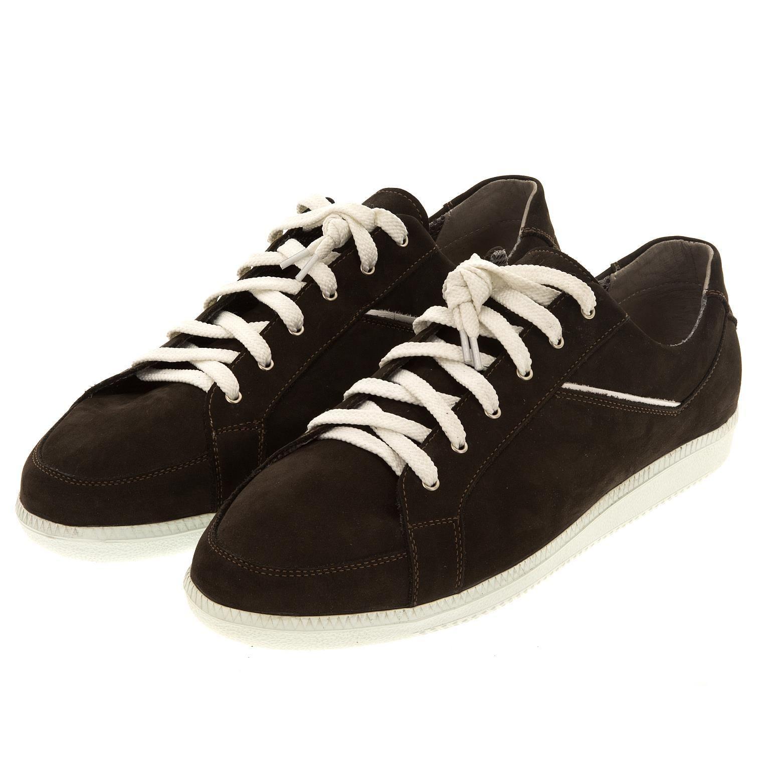 19065454853 649396 полуботинки мужские шоколад. КупиРазмер — обувь больших размеров  марки Делфино