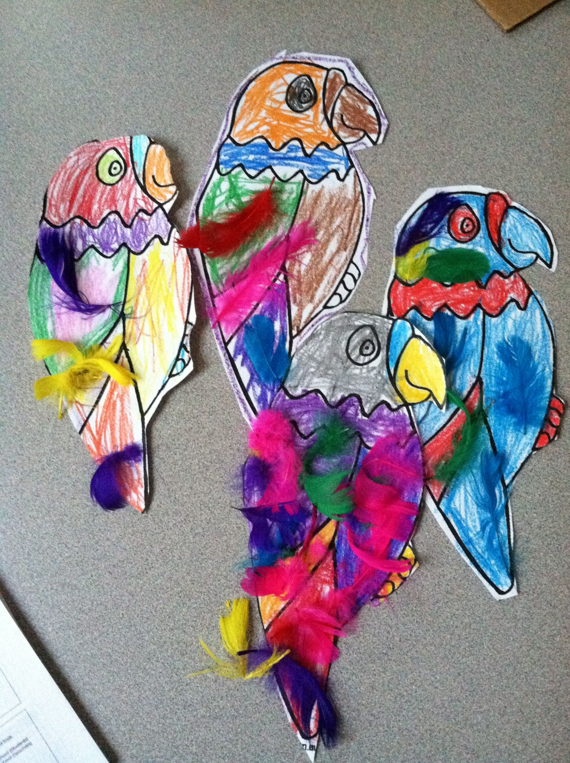 Parrot Craft For Mth Pirates