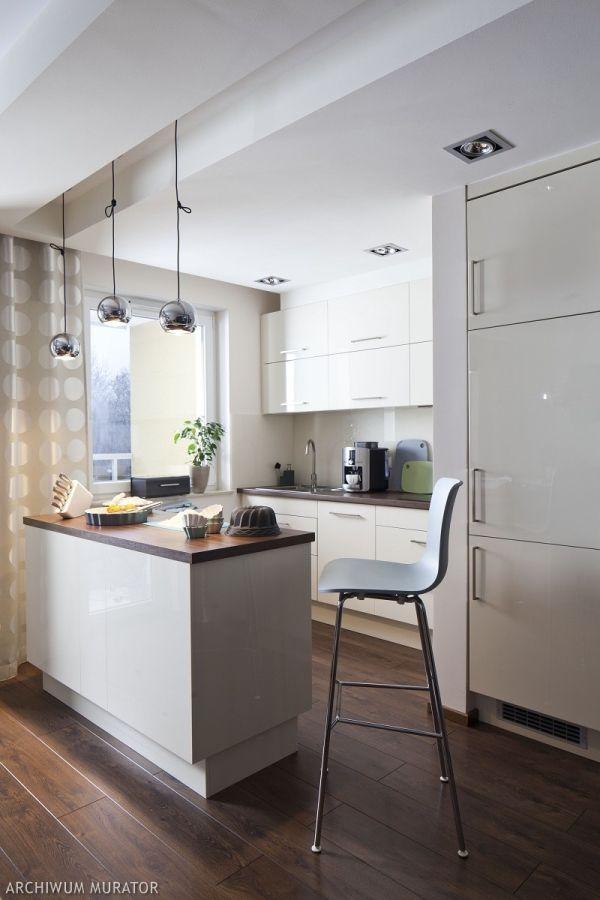 Biala Kuchnia Z Wyspa Popular Kitchen Designs Kitchen Design Modern Kitchen