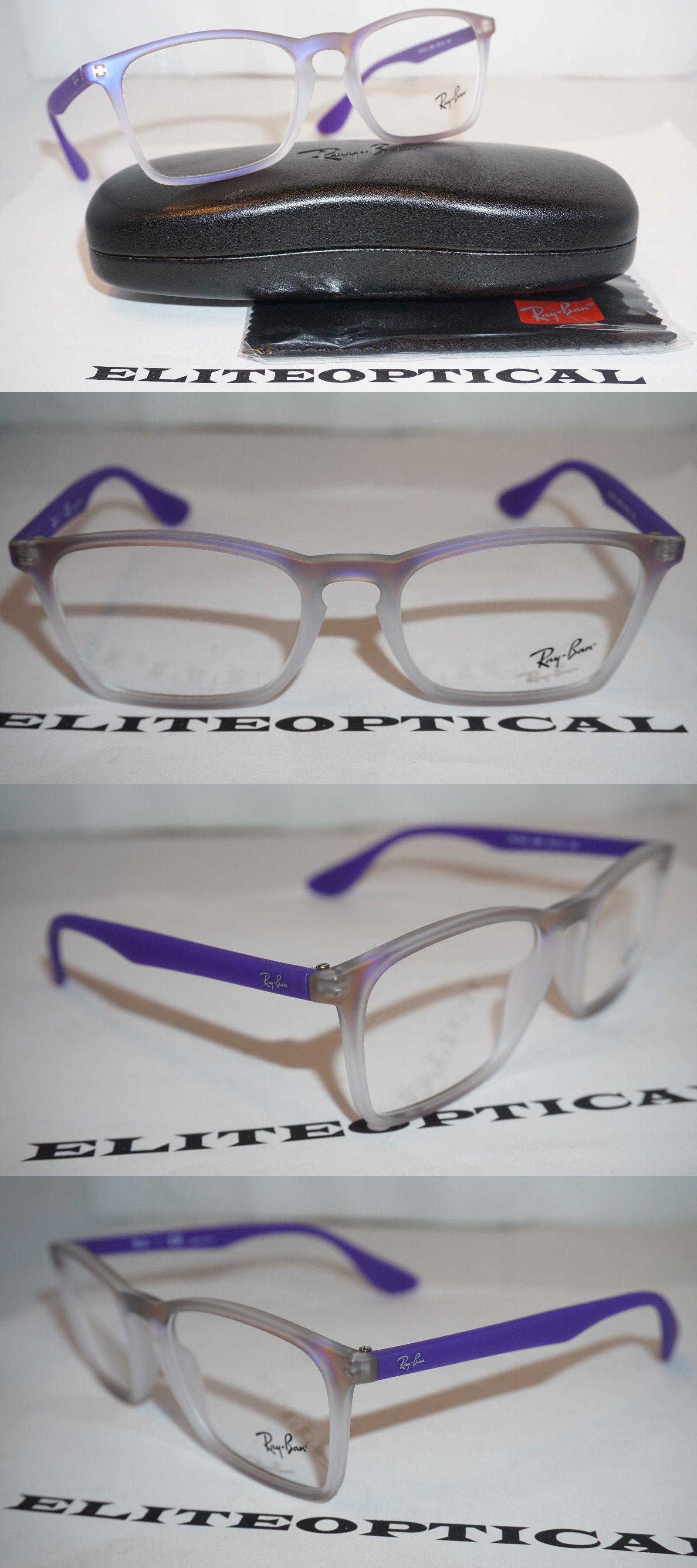 05dcde1c3f8 Eyeglass Frames  New Authentic Ray Ban Eyeglasses Iridescent Purple Rb7045  5600 53 18 140 -