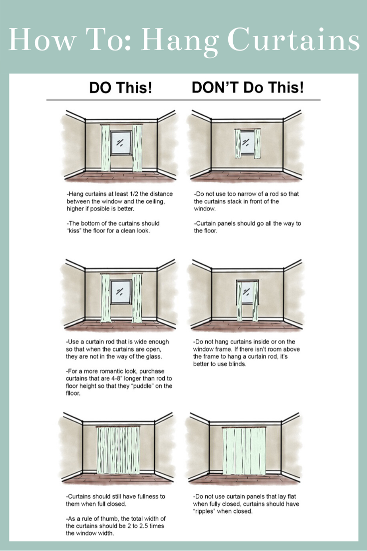 Photo of How to select the proper sized curtains for your space