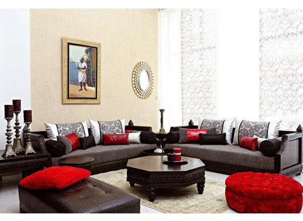 salon marocain mon maroc moi pinterest salons marocains salon et maroc. Black Bedroom Furniture Sets. Home Design Ideas