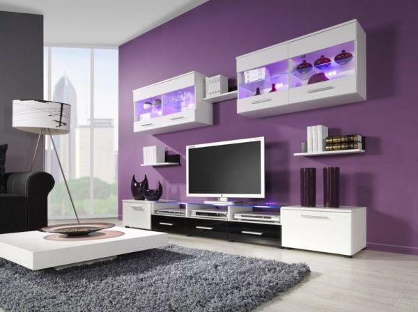 Schöner · Zimmerfarben Schöne Farbkombinationen Das Wohnzimmer