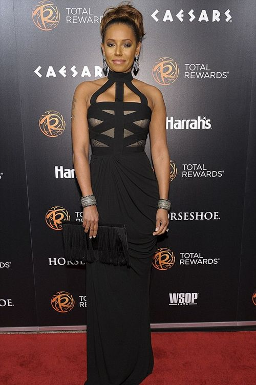2757fc065 Mel B in a beautiful dress | Style Aspiration :) | Dresses, Mel b ...