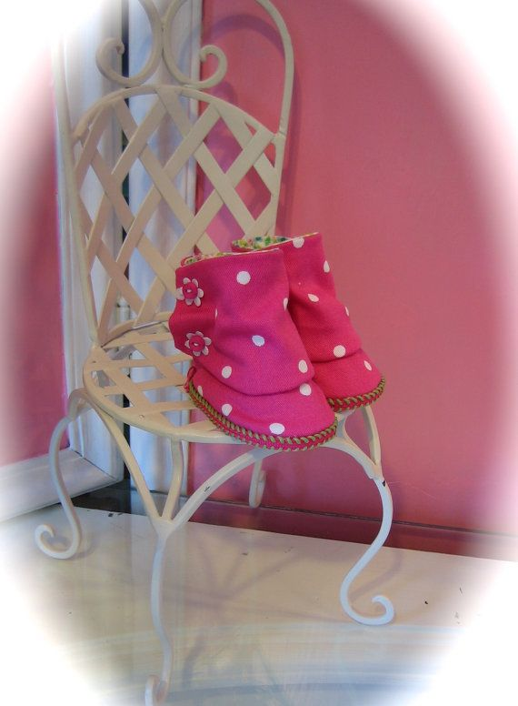 18 American Girl Doll boots by MenaBella on Etsy, $11.00