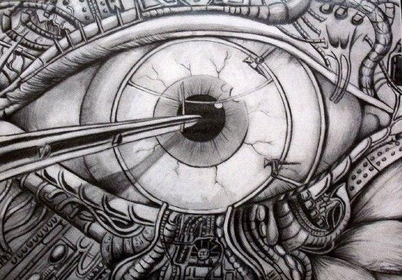 Biomechanical Eye by inkrat on DeviantArt | [ art ...