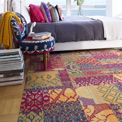 Magenta Chakra Flor Tiles With Images Carpet Tiles Design
