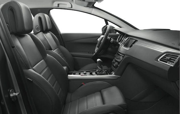 Peugeot 508 Sedan finns med fyra läderklädslar. | Peugeot 508 Sedan ...