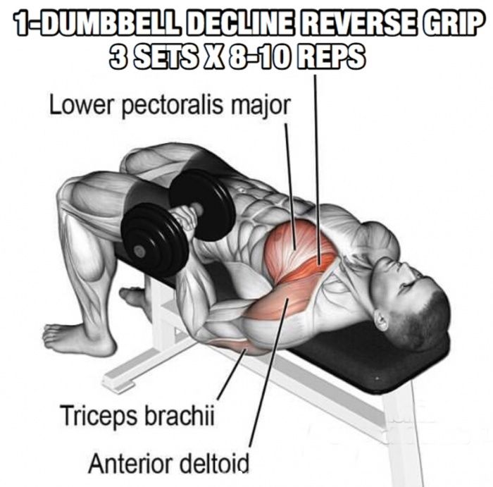 Chest Workout But Slightly Different Part 5! One Dumbbell Declin - Yeah We Train ! #chestworkouts