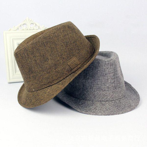 1e6bca3d04f Men Women Wide Brim Panama Fedora Hats Jazz Caps Top Beach Visor Hat ...